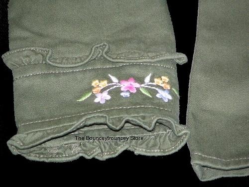 NWT Gymboree Tea Garden Embroidered Jacket Top Sz 4