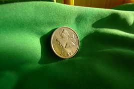 me. Latvia, 1 LATS 2012 Christmas Bells Bell - Coin for Luck Souvenir Collection - $6.00