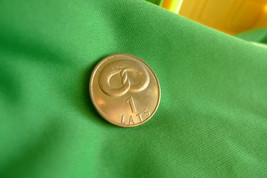Latvia, 1 Lats 2005 Pretzel    Coin For Luck - $6.99