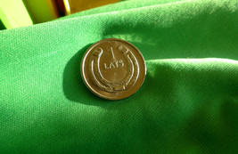 Latvia, 1 LATS 2010 Horseshoe - Coin for Luck Souvenir Collection  - $6.00