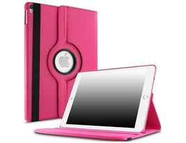 """360 Degree Smart Rotary Faux Leather Case for iPad Air 3 / iPad Pro 10.5"""" Pink"""