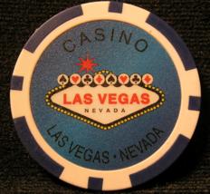"N/D Blue ""Welcome To Las Vegas "" Casino Chip - (sku#2253) - $2.29"