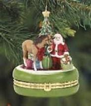 Breyer Christmas Wish Treasure Box Ornament NEW - $14.21