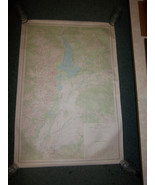 FREE Shipping  MAP Grand Teton National Park  topographic Wall Map Mural... - $69.99
