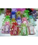 Bulk Lot 10 Soap Bars in Favor Bags Glycerin or... - $19.00