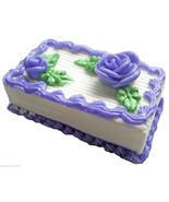 MINI SHEET CAKE Soap 7oz Handmade Novelty Glyce... - $8.00