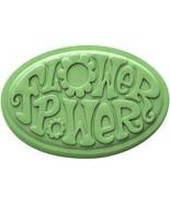 FLOWER POWER Soap Bar Handmade Glycerin Novelty... - $4.00