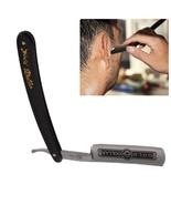 Stainless Steel Straight Edge Barber Razor Folding Retro Classic Shaving  - $14.88
