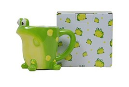 Toby The Toad Frog Coffee Mug Adorable Mug With Gift Box - $15.34