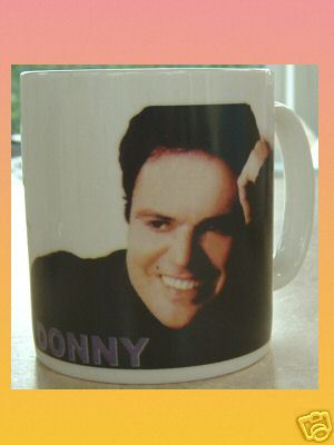 DONNY OSMOND CERAMIC MUG