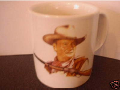 JOHN WAYNE CERAMIC MUG colour