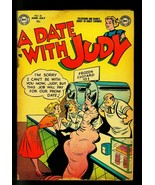 Date with Judy #35 1953 -Ice Cream cover- DC  Humor- G - $43.46