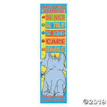 Dr. Seuss™ Horton Hears a Who™ Kindness Rules Vertical Banner - $7.11