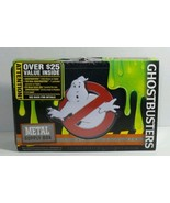 "GHOSTBUSTERS FIND IT METAL PENCIL SUPPLY BOX 5 1/2"" X 8 3/8"" X 2 3/8"" FT... - $7.83"