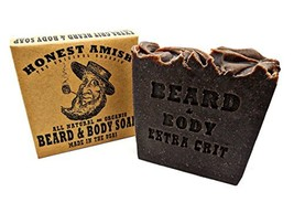 Honest Amish Beard & Body Soap Extra Grit - $13.62