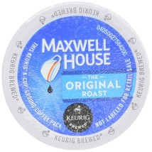 MAXWELL HOUSE COFFEE, ORIGINAL, K-CUP PODS, 4.12 OZ, 12 COUNT - $10.58