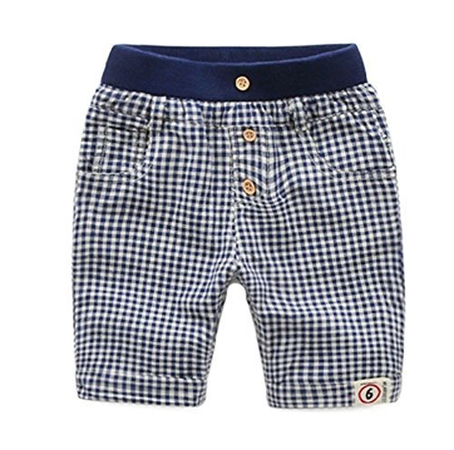 New Style Children's Wild Casual Pants Tartan Design Age 2-5