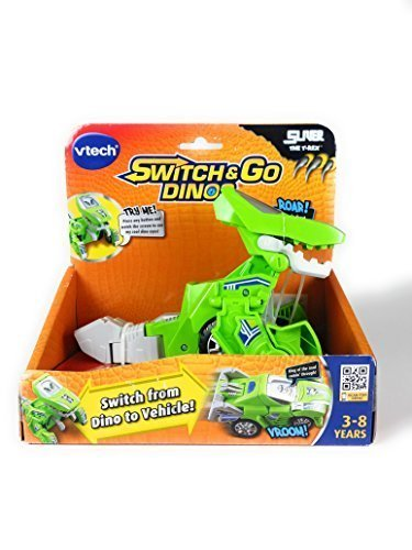 Vtech Switch & Go Dinos Sliver the T-Rex