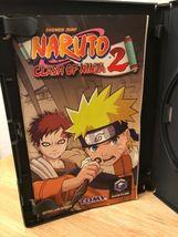 NARUTO CLASH OF NINJA 2 GAMECUBE GAME-IN MATCHING CASE image 8