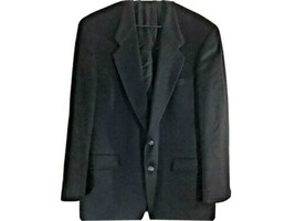 Hart Schaffner Marx Camel Hair 42black 100%  sport jack blazer 2 button - $38.00