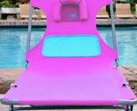 Pink ostrich chaise lounger recline thumb155 crop