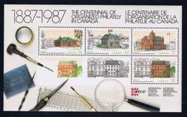 Canada CAPEX 87 Architecture s/s mnh 1987 - $2.50