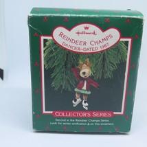 Hallmark Keepsake Ornament Reindeer Champs Series #2 Dancer - $3.67
