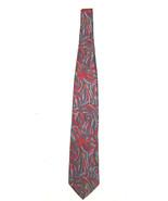 Vintage Christian Dior Monsieur neck tie multi color print  - $17.80