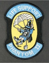 USAF Life Support Phantom II F-4 Patch Sticker - $9.89