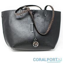 NWOT Guess Bobbi Inside Out Reversible Tote Donna Twin Bag Black/Multi - $96.03