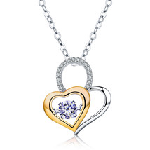 "14k Gold Plated ""You Are In My Heart""Forever Lover Heart Pendant Necklace - $15.99"
