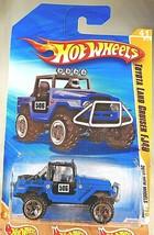 2010 Hot Wheels #41 New Models 41/44 Toyota Land Cruiser FJ40 Blue w/ORUT5 Spoke - $10.75