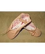 Capezio 205SC Split Sole Daisy Leather Ballet Pink Shoes Size 10.5N 10.5... - $26.00