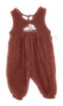 Vintage Carters Baby One Piece Suit Newborn NWT Terry Brown Eskimo Polar... - $19.29