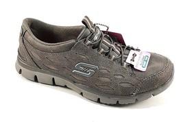 Skechers 22774 Grey Air Cooled Memory Foam Slip On Sneakers - $69.00