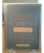 Do You Want to be like Christ, Charles R Swindoll, Workbook PB New, Free... - $9.50
