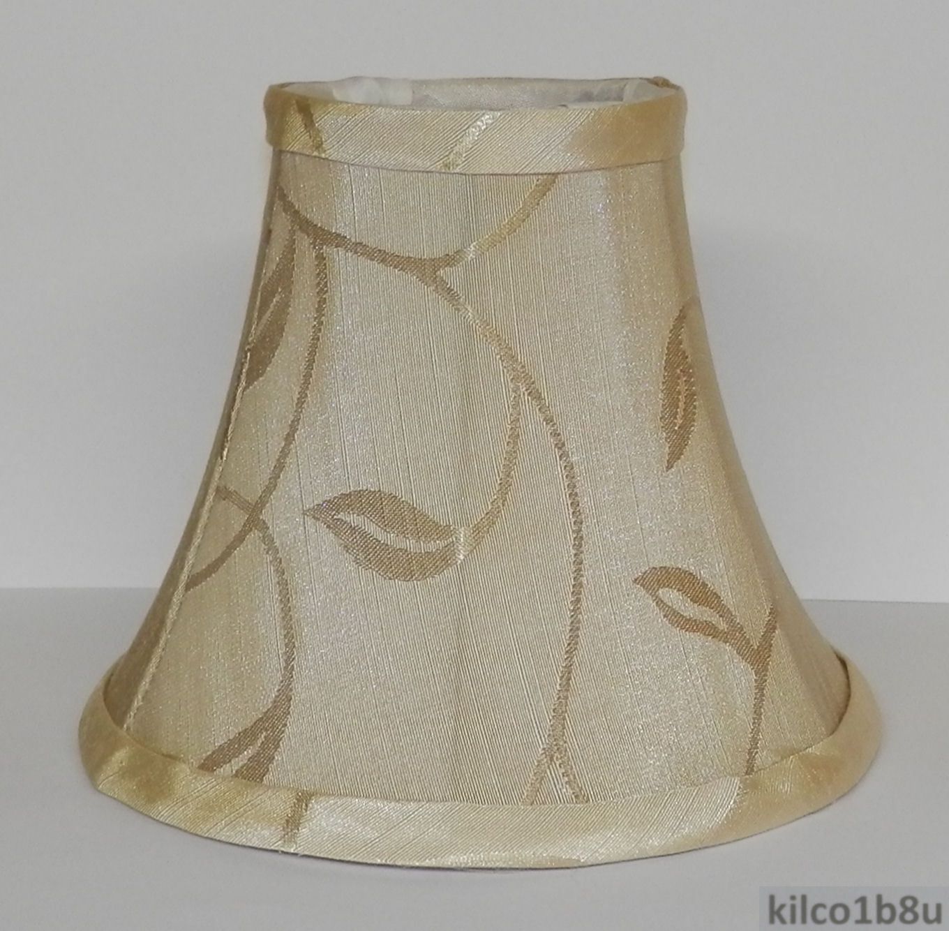New CREAM SWIRL LEAF Chandelier Mini Lamp Shade