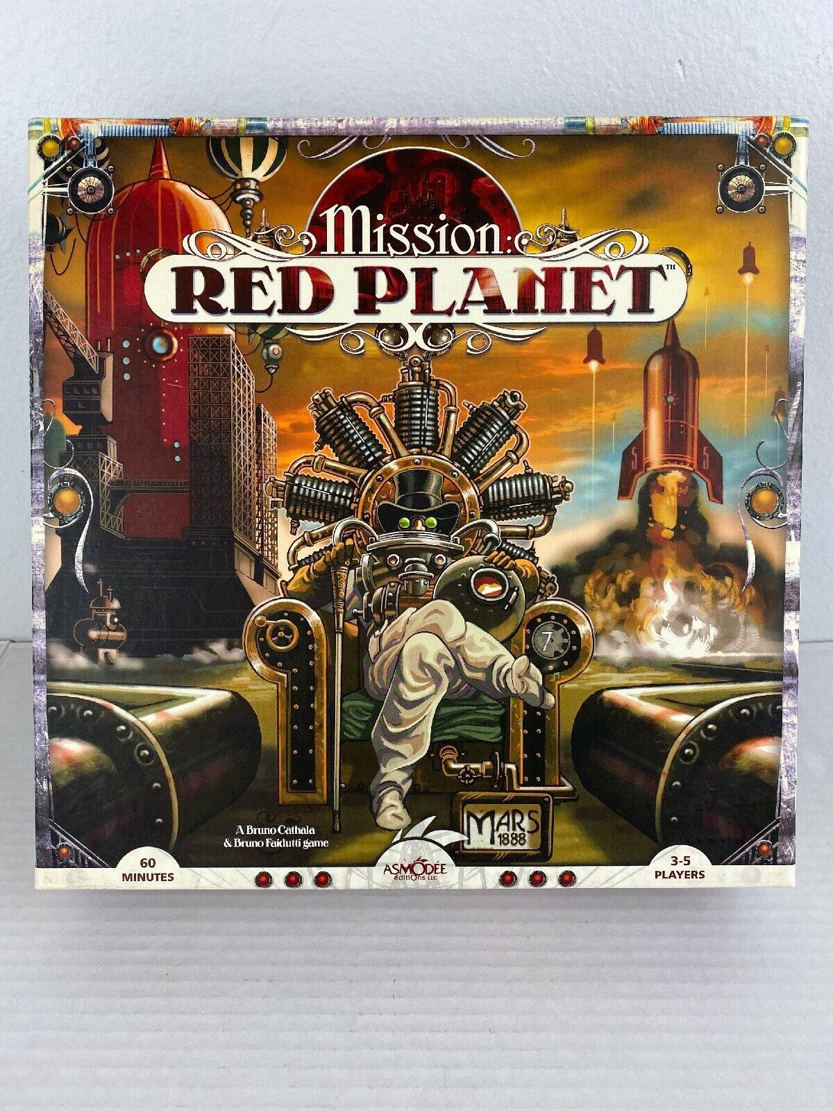Primary image for Mission Red Planet Board Game 1st Edition Asmodee Strategy 3-5 Player