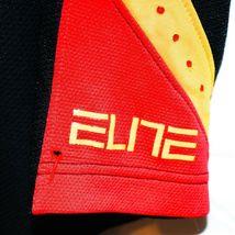 Nike Dri-Fit Elite Black Red Yellow Men's Athletic Basketball Shorts Size S image 3
