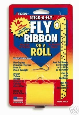 JT EATON - STICK-A-FLY - Fly Ribbon on a Roll