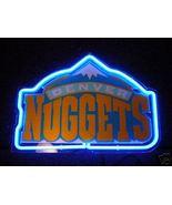 """NBA Denver Nuggets Beer Bar Neon Light Sign 10'' x 8"""" - $199.00"""
