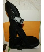 Breg Black Ankle Walker Medical Boot Walking Cast Foot Brace Sz M Straps... - $19.75
