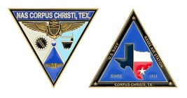 "NAVY NAS NAVAL AIR STATION CORPUS CHRISTI TEXAS 2.5"" MEDALLION CHALLENGE... - $16.24"