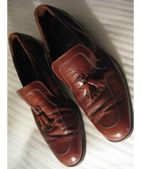 Vintage Florsheim Imperial Quality  Leather Loafers 10.5  Dress Shoes.  - $55.00