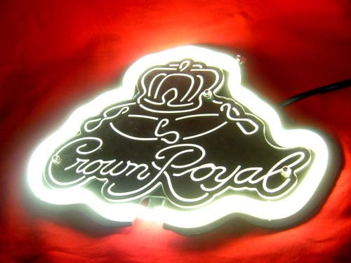 Crown Royal 3D Beer Bar White Neon Light and 50 similar items