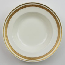 Royal Worcester Hotel China Soup Bow England Dinnerware Gold Band Tableware - $8.99