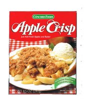 Concord Foods Apple Crisp Mix ( 6 Boxes)  - $29.99