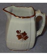 Old Vintage Mellor Taylor Ironstone Tea Leaf Table Pitcher - $85.00
