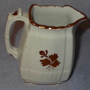Mellor Taylor Ironstone Tea Leaf Table Pitcher