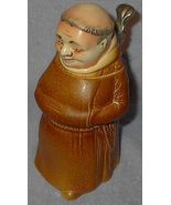 West German King Frier Monk Lidded Beer Stein Mug - $160.00